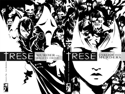trese komiks book 1 and 2